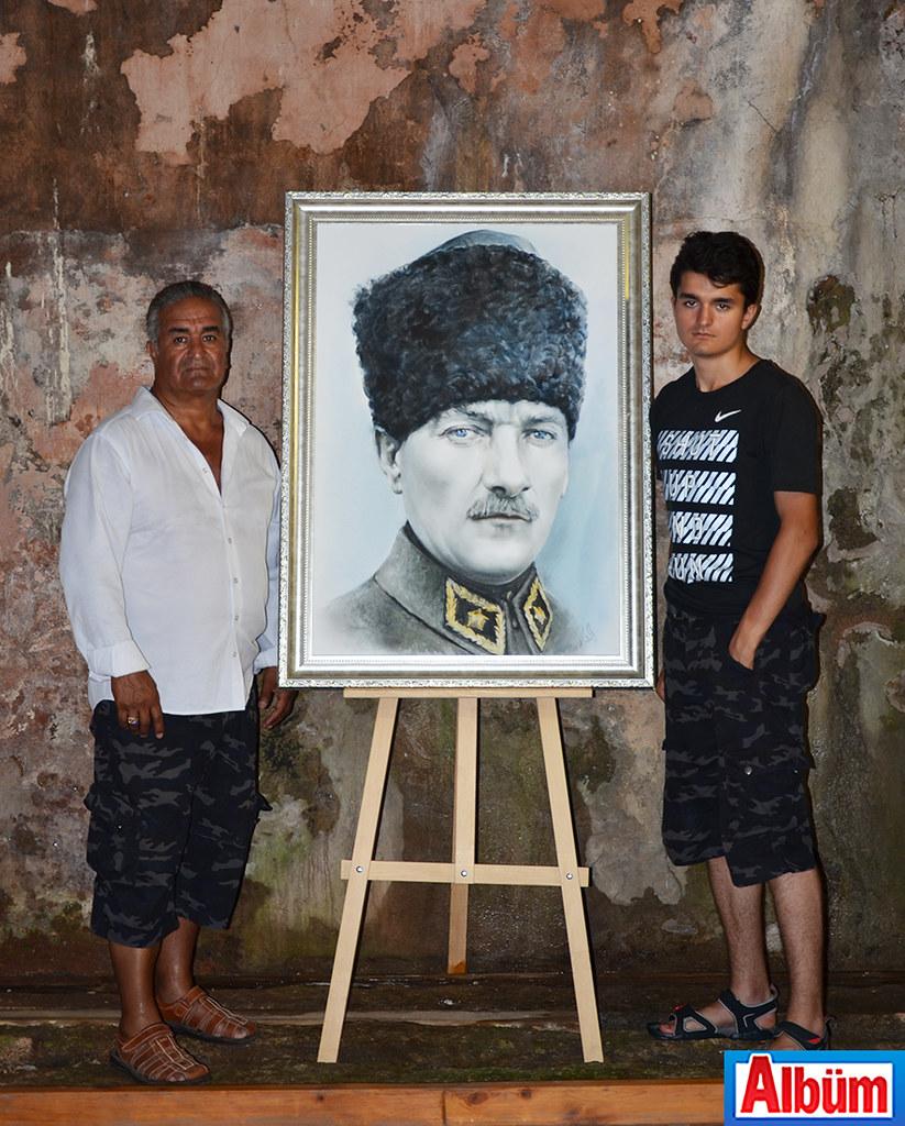 Eldar Zeynalov ve oğlu Ali Zeynalov