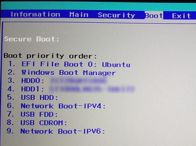 Acer BIOS UEFI SecureBoot