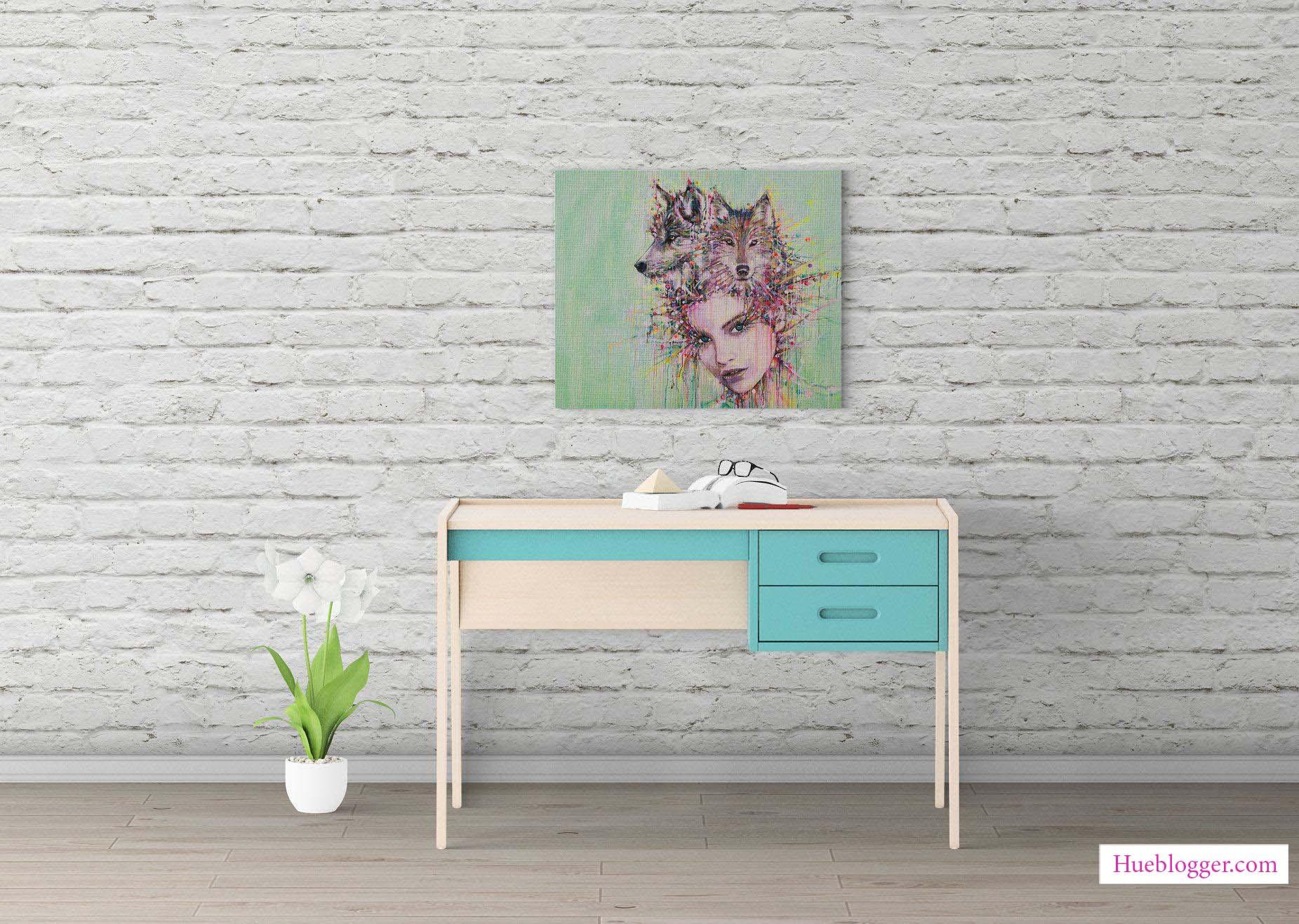 Mockup trang trí nội thất