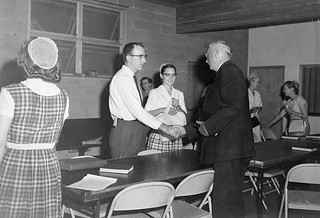 S C Yoder Marvin Faye Yoder Missionary Orientation 1960