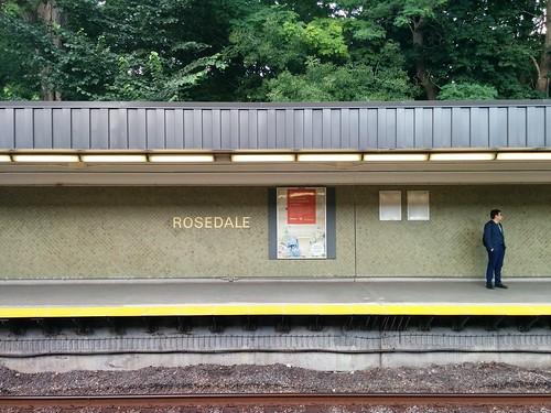 Rosedale #toronto #rosedale #ttc #subway