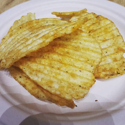 The Fried Green Tomato chips. I actually liked these! #yum #potatochips #junkfood