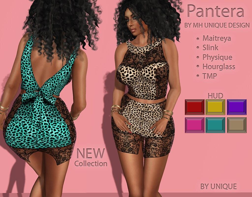 MH-Pantera Dress Collection - SecondLifeHub.com