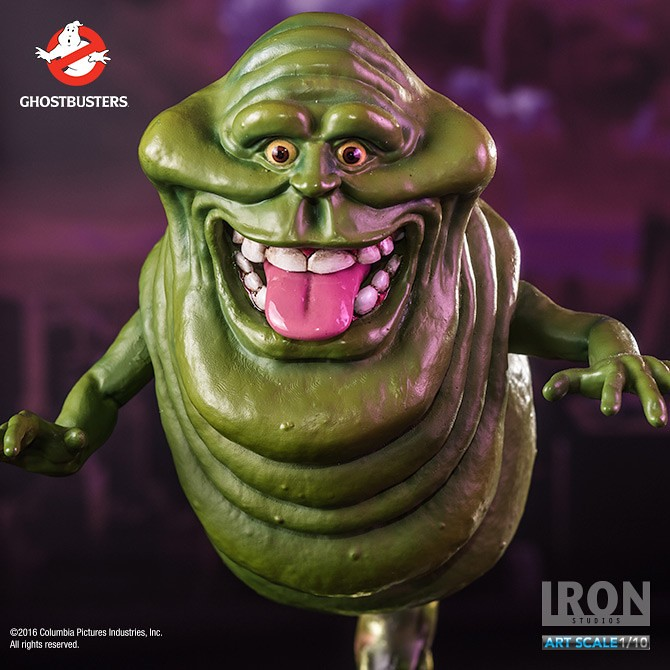超愛惡作劇的貪吃妖怪!!Iron Studios 魔鬼剋星【史萊姆】Ghostbusters Slimer 1/10 比例雕像