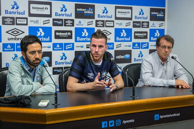 Apresentação Paulo Victor no Grêmio