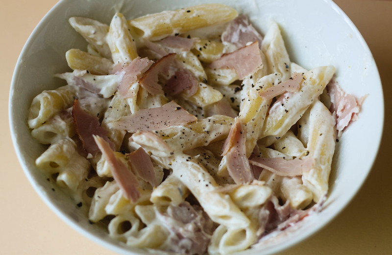 SW friendly quick carbonara recipe budget friendly recipe UK