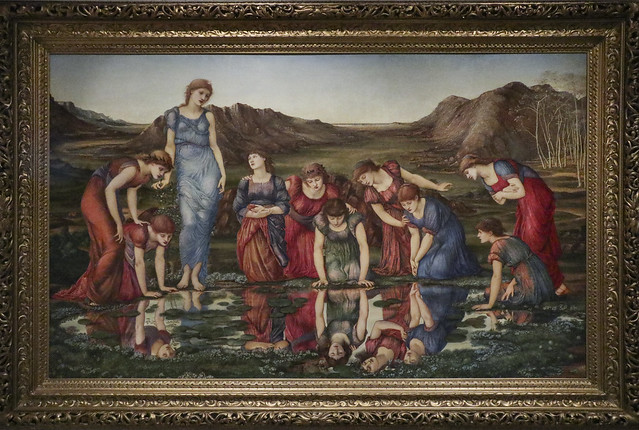 The Mirror of Venus, Sir Edward Burne-Jones, England 1877