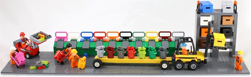LEGO Colours recycling facility