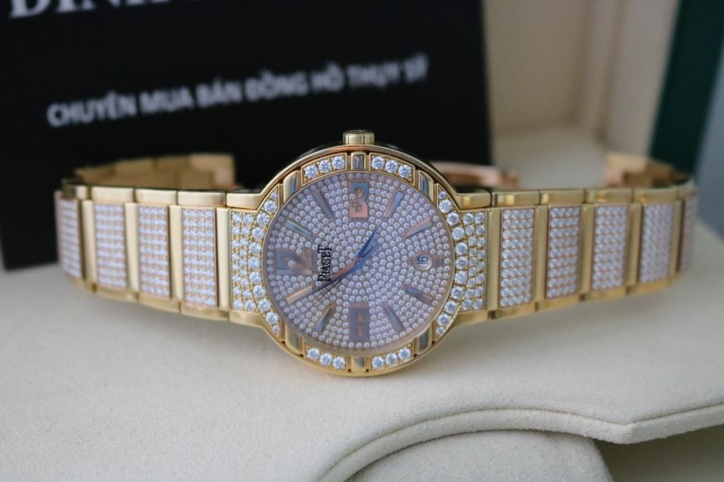 Đồng hồ Piaget Polo Nam – Dây Vỏ kim cương – Automatic – Size 38mm
