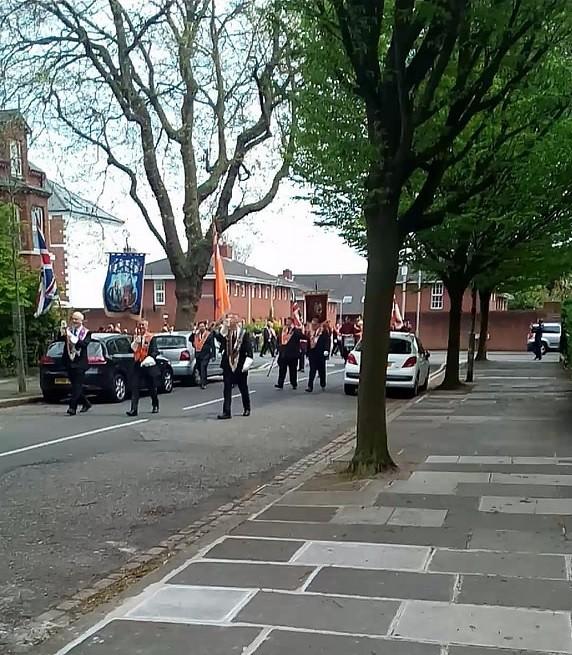 Marcha orangista Belfast