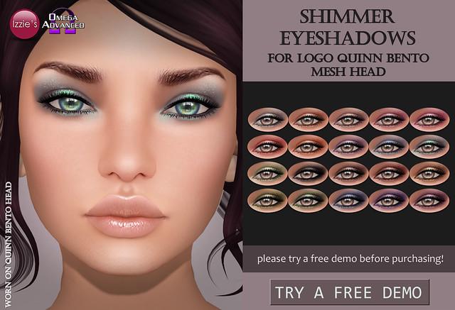 LOGO Quinn Shimmer Eyeshadows