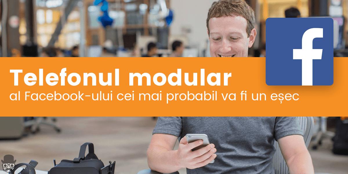 Telefonul modular Facebook