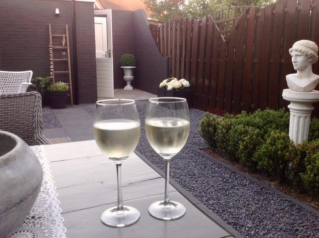 Wijntje in de tuin