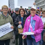 Cedar Lane Members & Their Friends at the Women's March, 1.21.17