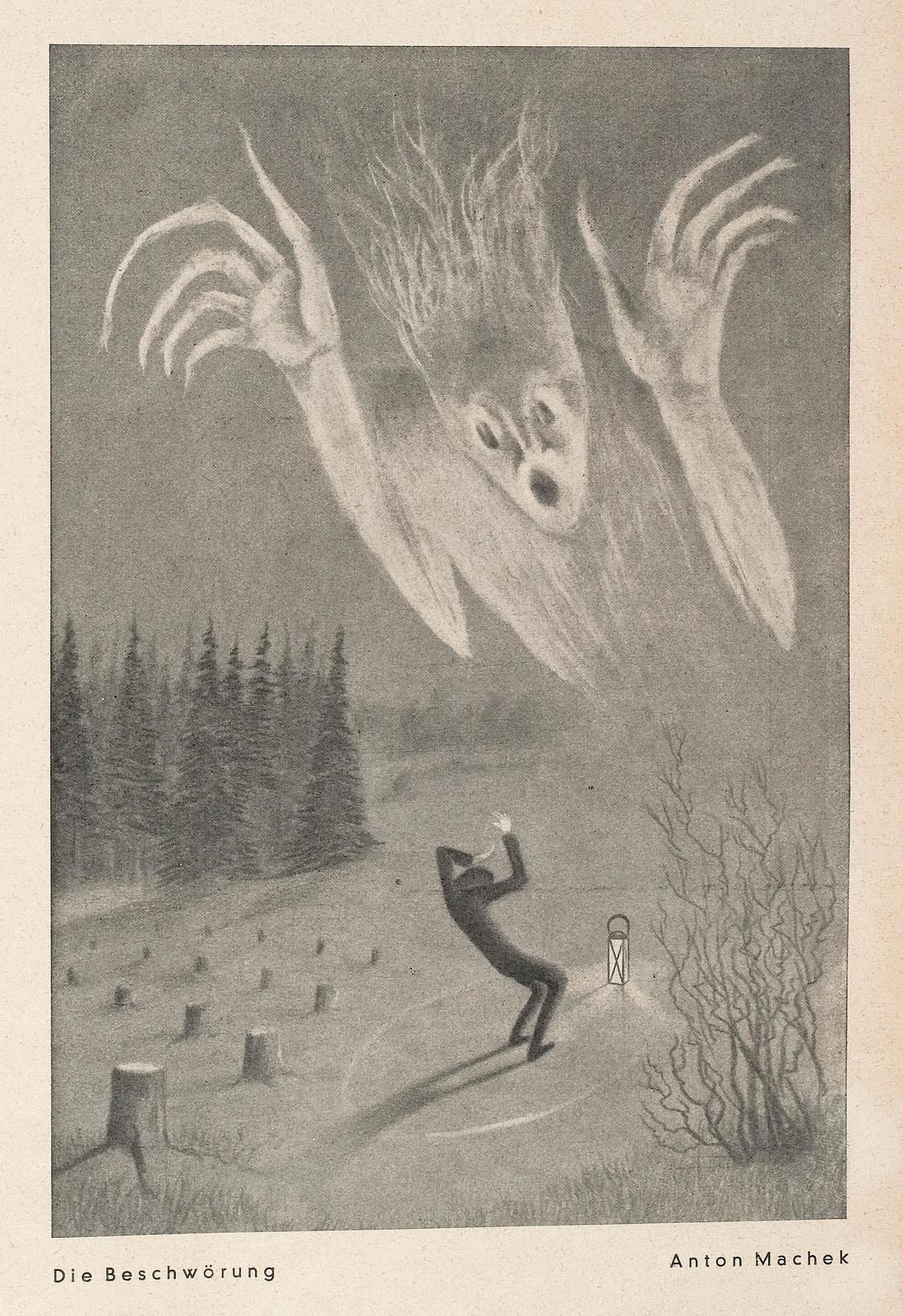 Anton Machek - The Incantation, 1931