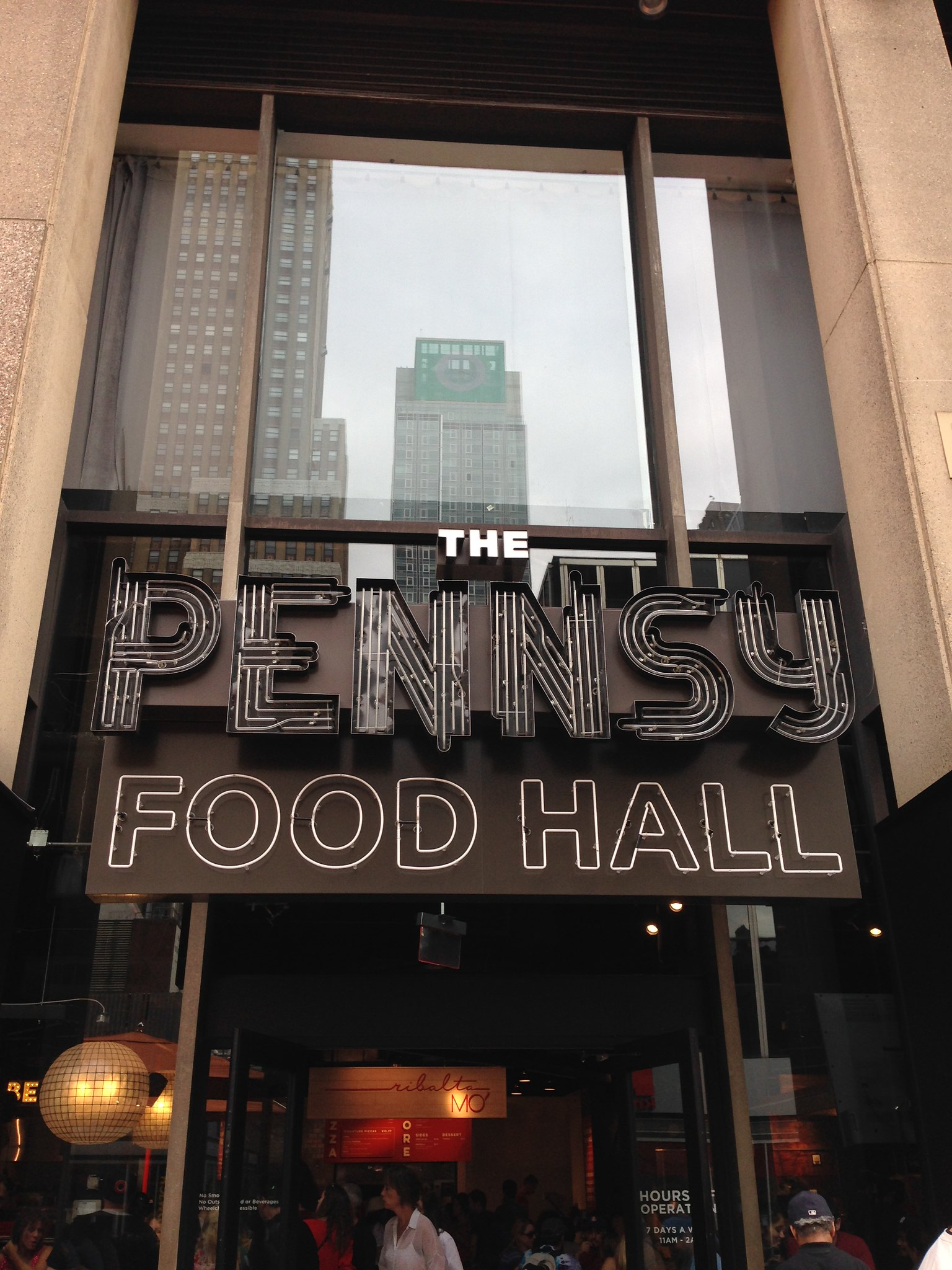 Pennsy Food Hall, NYC. Nueva York 2017
