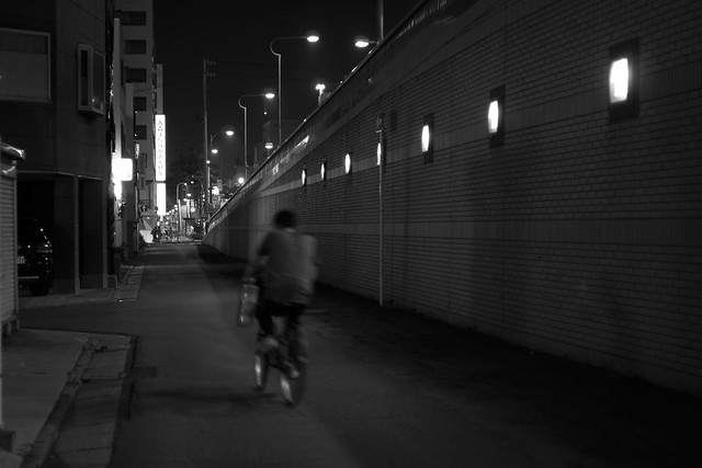 夜の写んぽ PENTAX K-30 + FA 43mm F1.9 Limited