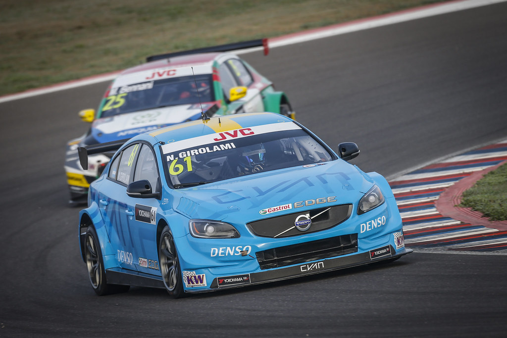 61 GIROLAMI Nestor (arg) Volvo S60 Polestar team Polestar Cyan Racing action during the 2017 FIA WTCC World Touring Car Race of Argentina at Termas de Rio Hondo, Argentina on july 14 to 16 - Photo Francois Flamand / DPPI