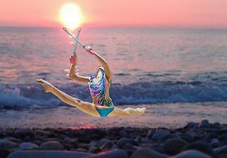 «Русалочки» на гимнастическом турнире