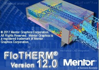 Mentor Graphics FloTHERM Suite 12.0 Win Linux x64
