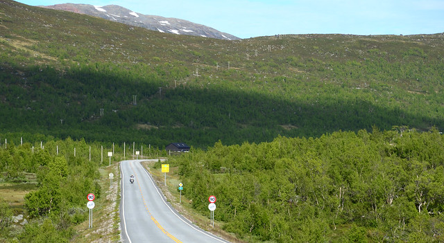 Norway's fast speed limit