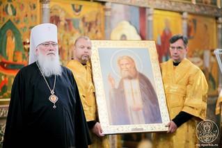 Литургия в Иверском монастыре 440