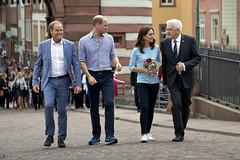 Herzogpaar von Cambridge besucht Heidelberg