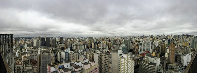 São Paulo from the top of COPAN