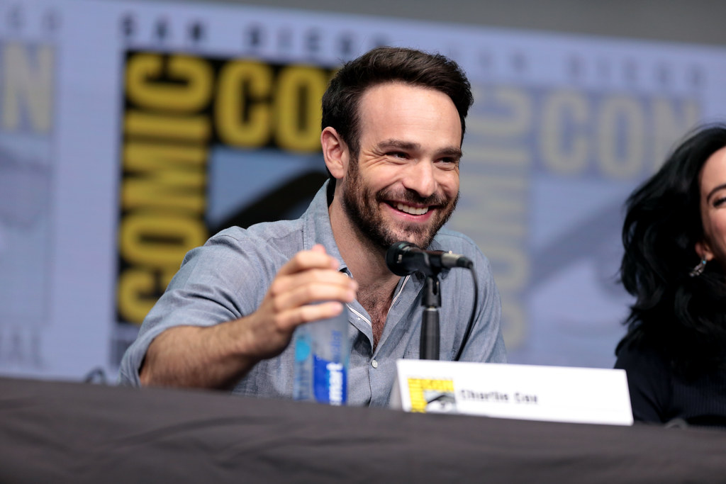 Charlie Cox | Charlie Cox speaking at the 2017 San Diego Com