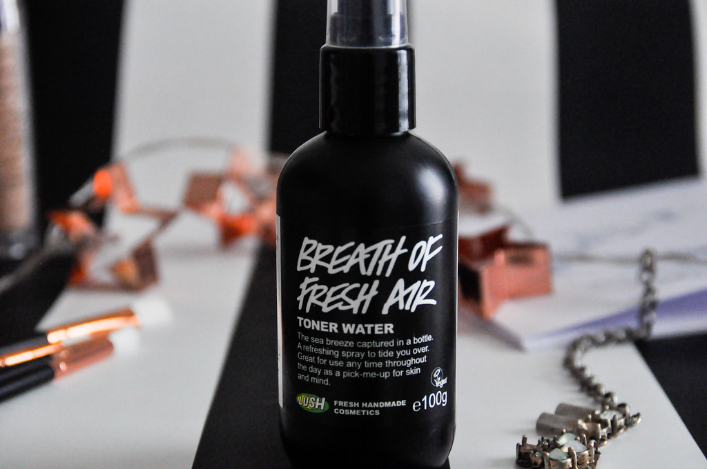 Lush Breath of Fresh Air Toner Water Cruelty Free Vegan Review