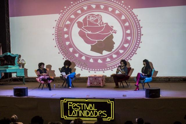 """Com dez anos, o """"Latinidades"""" é referência no continente, sendo considerado o maior festival de mulheres negras da América Latina - Créditos: Latinidades Ninja"""