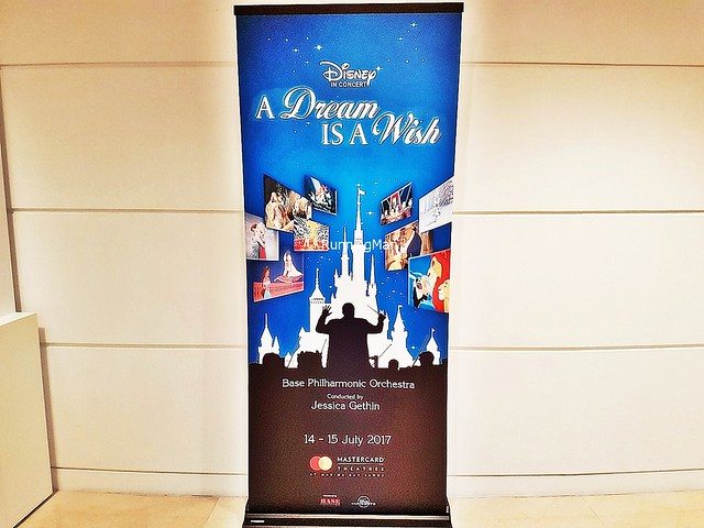 Disney In Concert A Dream Is A Wish Signage