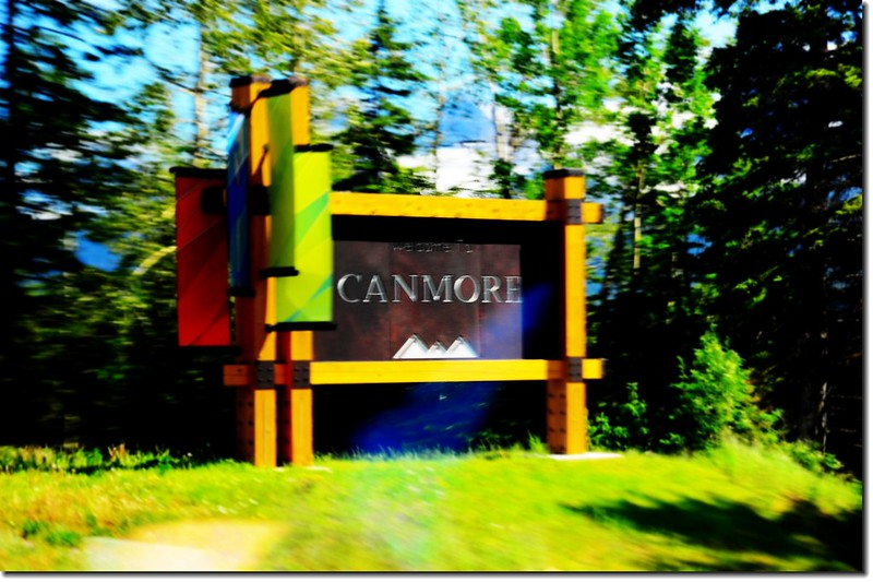The Sign at Canmore