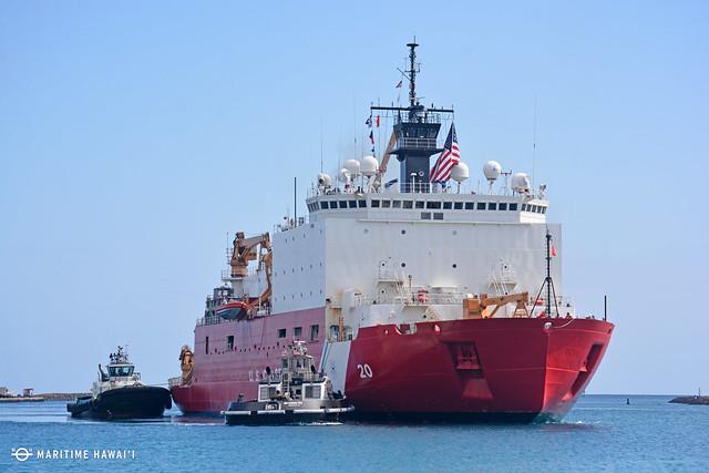 Icebreaker USCGC Healy