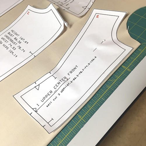 Bootstrap Dress Form: Prepping Fabric, Cutting, & Marking