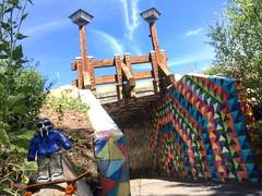 @TheRingOfDoom & A Pedestrian Footbridge In Park City, Utah
