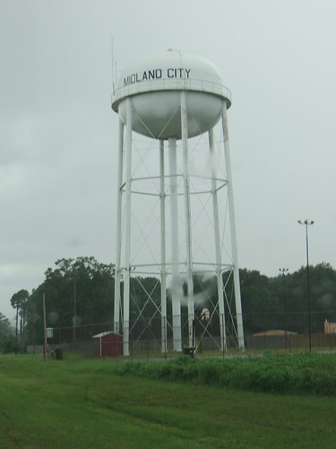 Municipal Water Tower Midland City AL