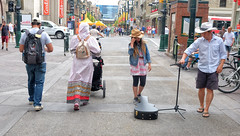 Calgary Stampede, Downtown Action