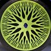 Chartreuse wheel cover - Renault x Ross Lovegrove - icon size by Monceau