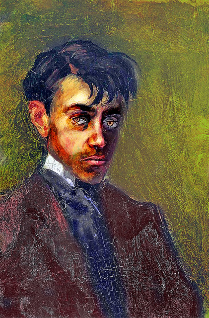 Stealing Picasso (Self-portrait)