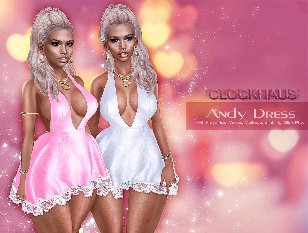 Andy Dress EXCLUSIVE for ANYBody - SecondLifeHub.com