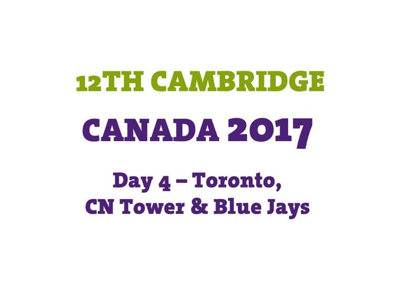 Day 4 - Toronto - CN - BlueJays