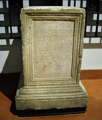 NEAPOLIS/NAPLES AS OLYMPIA - Marble slab on Isolympic games in Naples, with two Greek inscription (170-171 AD) - from Neapolis/Naples - Epigraphic Collection - Naples, Archaeological Museum