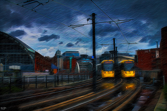 Trams on Time
