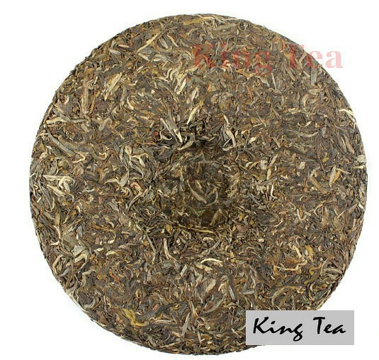 Free Shipping 2015 LaoMan'E Three Sheep Open Peace Cake 1000g China YunNan MengHai Chinese Puer Puerh Raw Tea Sheng Cha Premium