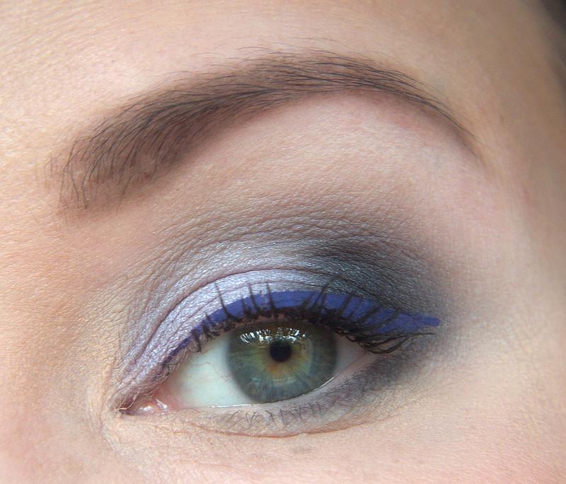 NYX Gloomy Days makeup