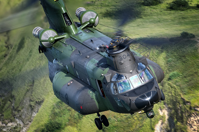 RCAF 450 Tactical Helicopter Squadron CH-147F4