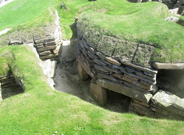 Passage Between Houses, Skara Brae, Orkney