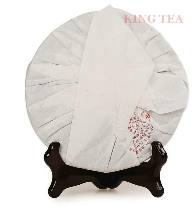 Free Shipping 2014 XiaGuan ShengTai QiZi Beeng 357g YunNan MengHai Organic Pu'er Raw Tea Weight Loss Slim Beauty Sheng Cha