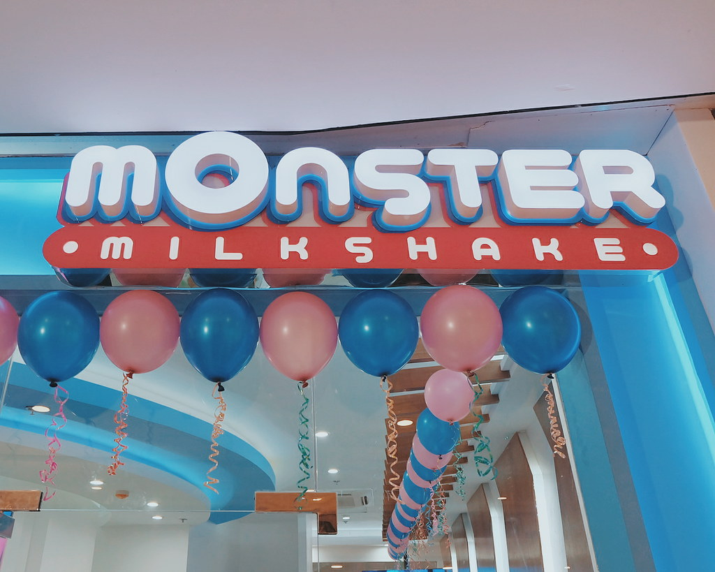 New Monster in Manila | Monster Milkshake, Vertis North